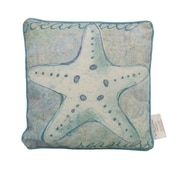 Handcrafted Nautical Decor Starfish Throw Pillow