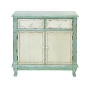 Cole & Grey 2 Drawer 2 Door Cabinet
