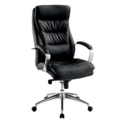 A&J Homes Studio High-Back Leather Executive Chair