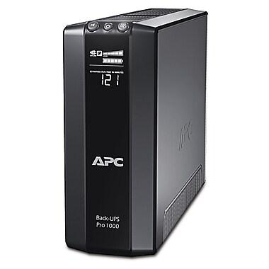 APC® – Système d'ASI Back-UPS™ Pro, 100VA, 8 prises (BR1000G)