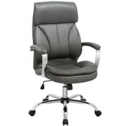 Porthos Home High-Back Executive Chair; Gray