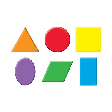 Trend Enterprises® Pre-kindergarten - 9th Grades Mini Accents, Shapes