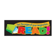 Trend Enterprises® Turn The Pages of Your Imagination Bookmark, Grades Kindergarten - 6th