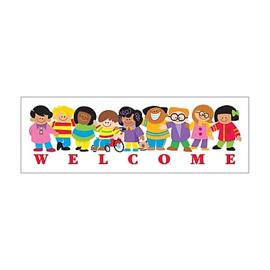 Trend Enterprises® Welcome Bookmark, Grades K - 3, Grades Kindergarten - 3rd
