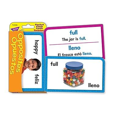 Trend Enterprises® Pocket Flash Card, Opposites
