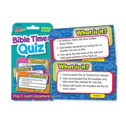 Trend Enterprises® Challenge Cards, Bible Times Quiz