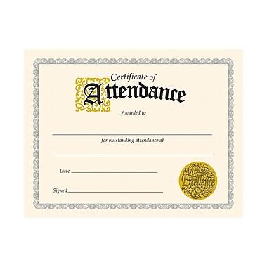 Trend Enterprises® Certificate of Attendance, 8 1/2