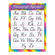 Trend Enterprises® Manuscript Alphabet (Modern) Learning Chart