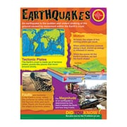 Trend Enterprises® Earthquakes Learning Chart