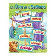Trend Enterprises® Los Dias de la Semana (Days of The Week) Spanish Learning Chart
