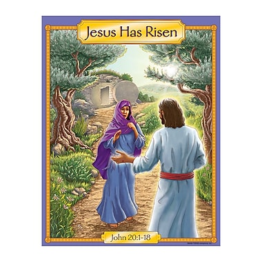 Trend Enterprises® Jesus Has Risen-Story Learning Chart