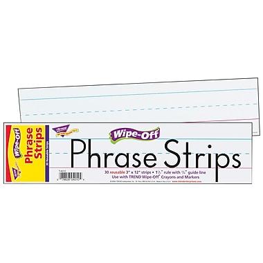 Trend Enterprises® White Wipe-Off Sentence Strip, 12