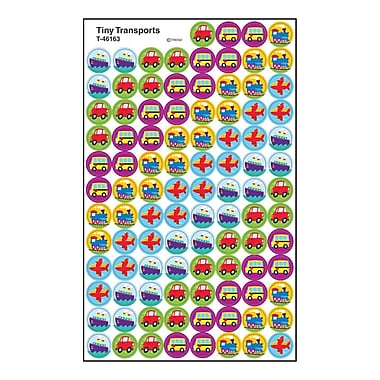 Trend Enterprises® SuperSpots® Stickers, Tiny TranSports