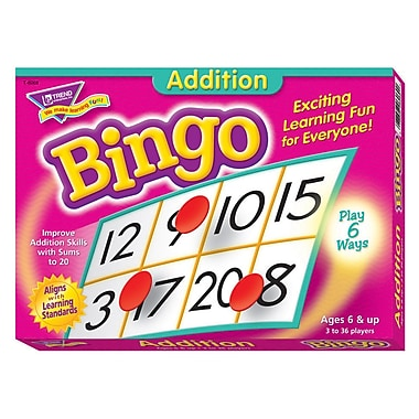 Trend Enterprises® Bingo Game, Addition
