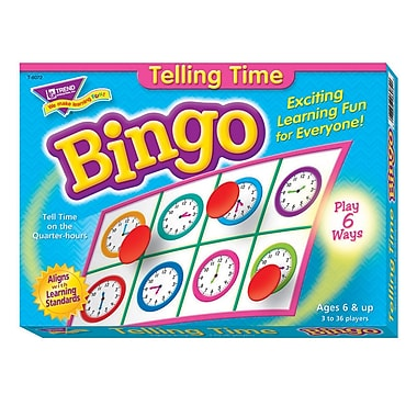 Trend Enterprises® Bingo Game, Telling Time