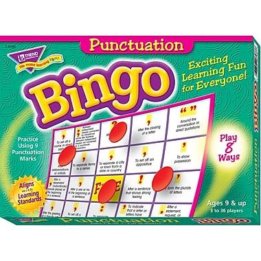 Trend Enterprises® Punctuation Bingo Game, Grades 2nd - 5th