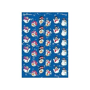 Trend Enterprises® Sparkle Stickers, Snow Folks