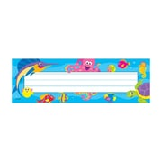 Trend Enterprises® 1st - 4th Grades Name Plate, Under The Sea