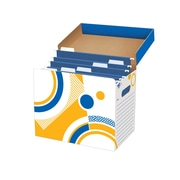 Trend Enterprises® File'n Save System® File Folder Box, Assorted