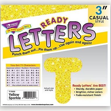 Trend Enterprises® Ready Uppercase Letter, 3