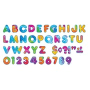 "Trend Enterprises® Ready Casual Uppercase Letter, 4"", Multi-Color"
