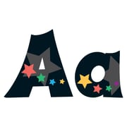 "Trend Enterprises® Stargazer Friendly 4"" Uppercase/Lowercase Ready Letters® Combo Pack, Multicolor"