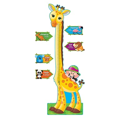 Trend Enterprises® Bulletin Board Set, Giraffe Growth Chart