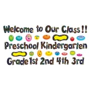 Trend Enterprises® Mini Bulletin Board Set, Welcome Phrases