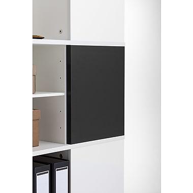 Moll® Magnetic Boards for Cube Binder & File Carousel Shelving, Black (CUBEMB-BK)