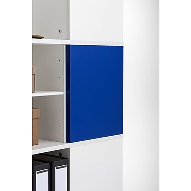 Moll® Magnetic Boards for Cube Binder & File Carousel Shelving, Blue (CUBEMB-BL)
