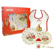 Royal Doulton Bunnykins Melamine 5 Piece Dinnerware Set