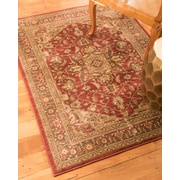 Natural Area Rugs Chiara Beige/Red Area Rug; 8' x 10'