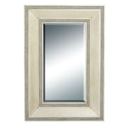 Cole & Grey Wood Frame Wall Mirror