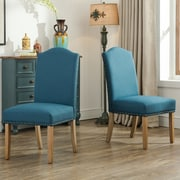 Roundhill Furniture Mod Urban Style Parson Chair (Set of 2); Blue