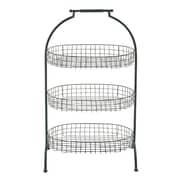 Cole & Grey Metal 3 Tiered Stand