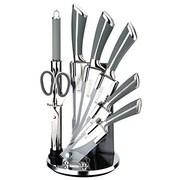 IMPQ 8 Piece Knife Set; Gray
