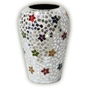 DecorShore Boho Chic Rainbow Star Rhapsody Metal Table Vase