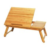 Timber Valley Home Bamboo Adjustable Laptop Tray
