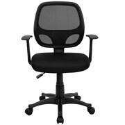Thornton's Office Supplies Swivel Mid-Back Mesh Desk Chair