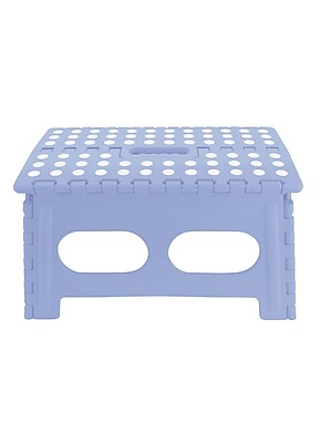 Volar Ideas Simply Fold 15 Rectangular Step Stool Blue