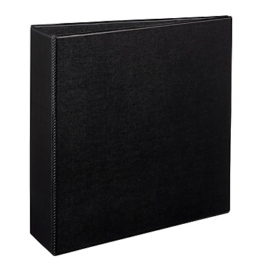 Avery Durable 3-Inch EZD 3-Ring Binder, Black (7701)