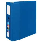 Avery® Heavy Duty Non-View Binder with One Touch EZD™ Rings, 11 x 8 1/2, Non-View, 1/Carton (21018)