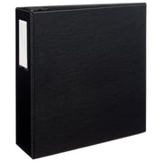 "4"" Avery® Durable Binder with Label Holder and EZD Rings, Black"