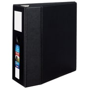 Avery Heavy-Duty 5-Inch EZD 3-Ring Non-View Binder, Black (79996)