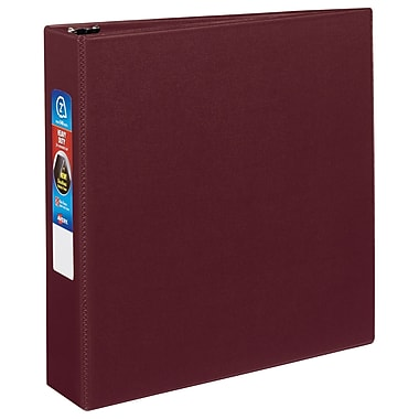 Avery Heavy-Duty 2-Inch D 3-Ring Binder, Maroon (79-362)