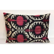 Tasdemir Rugs Pomegranate Velvet Lumbar Pillow