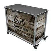 Rainmaker Imports Realtree All Purpose Bar Cart; Barnwood