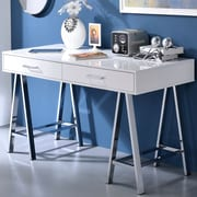 ACME Furniture Coleen Writing Desk; White