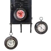 Creative Co-Op Metal Magnet Clock Set