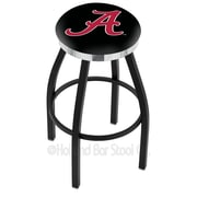 Holland Bar Stool NCAA 36'' Swivel Bar Stool; North Dakota State - Black